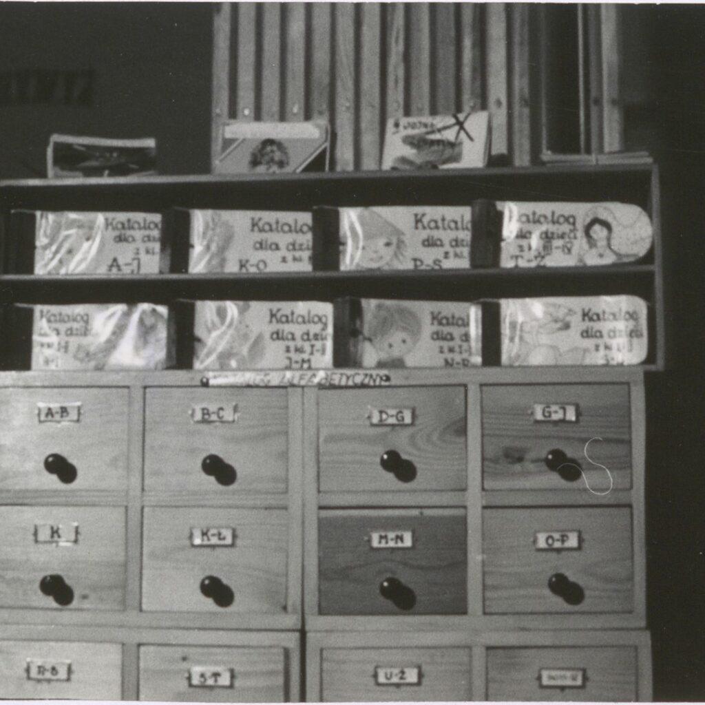 Oddział dla dzieci Powiatowej i Miejskiej Biblioteki Publicznej w Działdowie 1974 r.
