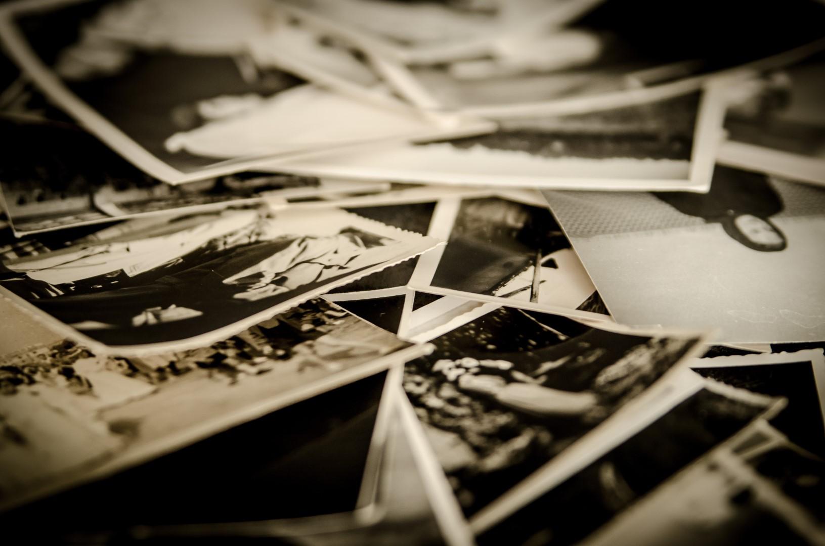 sterta starych zdjęć