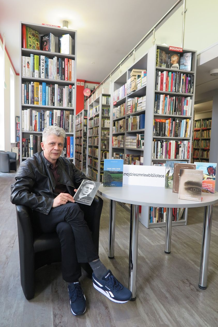 Benedykt Zygfryd Perzyński w bibliotece